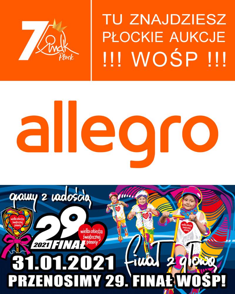 Wosp 2021 Na Allegro Mlodziezowy Dom Kultury W Plocku Im Krola Maciusia Pierwszego